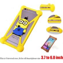Meizu m2 mini case dos desenhos animados silicone universal fundas meizu m2 mini case capa para meizu m2 mini (5.0 polegadas) Smartphone Shell Coque