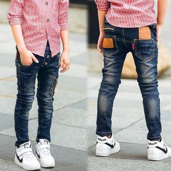 retail 2018 autumn winter cotton pants boys jeans kids stylish fashion trousers pencil pants roupas infantis menina leggings Boys Jeans