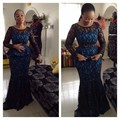 Elegnat  A Line Lace Beading Mother Dresses Floor Length Mother Of The Bride Dresses Party African Nigerian Style Woman Dresses