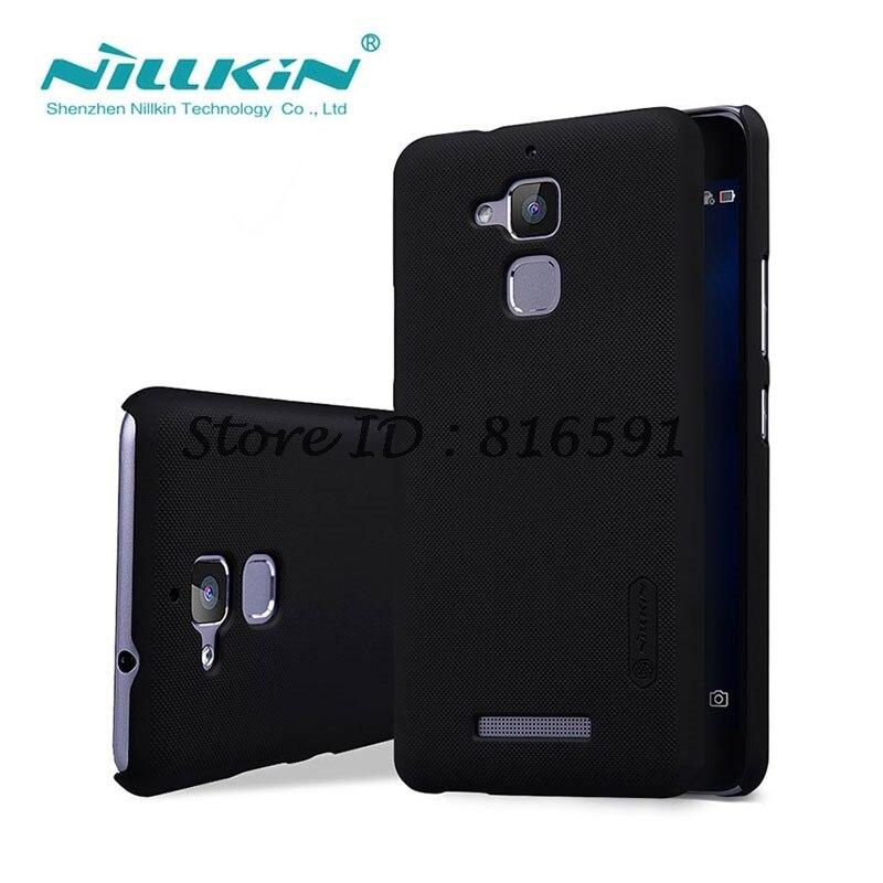 sFor Asus Zenfone 3 Max ZC520TL Case Nillkin Frosted Shield Case For Asus Zenfone 3 Max ZC520TL 5.2 inch With Screen Protector