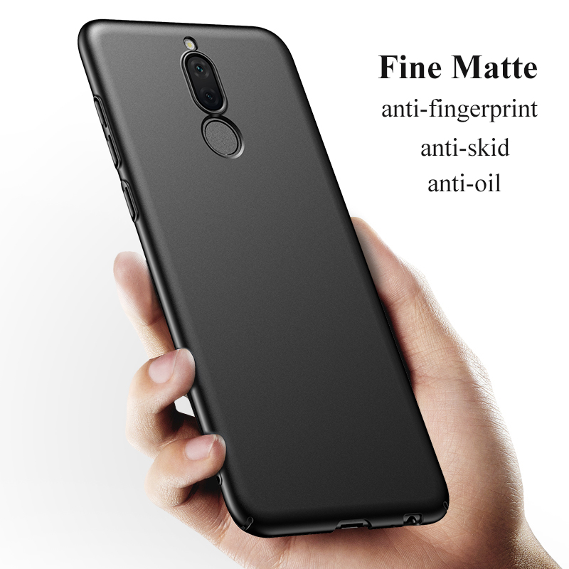 check out 474dd 48d3a US $2.09  KEFU For Huawei Mate 10 Lite Case Huawei Nova 2i Case 360  Protection Slim Matte Hard PC Back Cover for Honor 9i Phone Cases-in Fitted  Cases ...