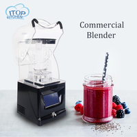 Multifunction Electric Food Blender Home Professional Smoothies Power Sound Insulation Blender Food Mixer Juicer Processor