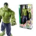"""HOT New Marvel Heros sobre 30 cm The Avengers 2 Hulk Figuras de Ação PVC Toy Collectible 12 """"30 CM conjunto de Brinquedos Presentes hl020"""