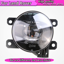 Car Styling LED Fog Lamp Assembly for Land Rover Range Rover Discovery Freelan LED Fog Light Auto Fog Lamp LED DRL цены онлайн