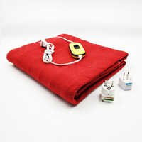 Security Automatic Protection Electric warm blankets Rapid heating blanket 150x70cm Heated mattres drying warmth Heating pad