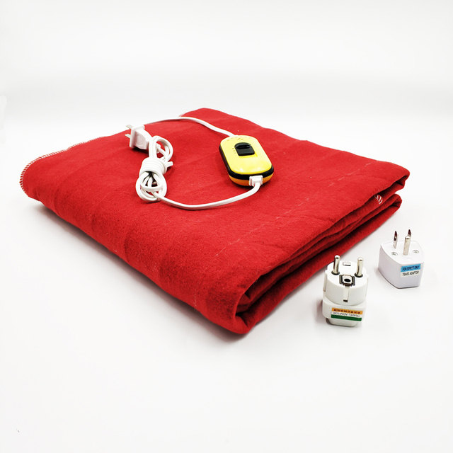 Security Automatic Protection Electric Warm Blankets Rapid Heating Blanket 150x70cm Heated Mattres Drying Warmth Pad