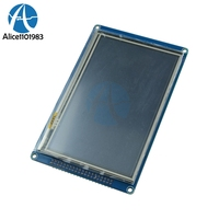 5.0 inch 800x480 Touch Display TFT SSD1963 Touch Panel Module For AVR STM32 5.0'' LCD Module Anti Glare RGB Stripe Module