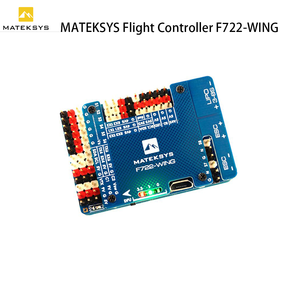 HOBBYMATE Cicada AIO F4 Flight Controller W 30x4 BLHeli S DSHOT ESC OSD PDB w BEC