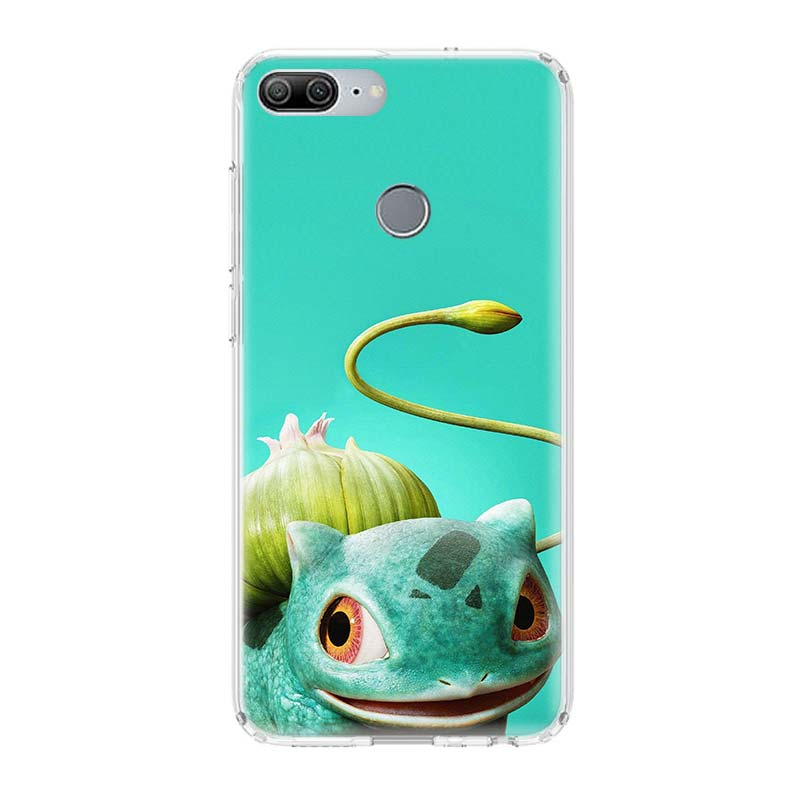Pikachue Movie Printing Protect Phone Case for Huawei Honor 8X 20 9 10 Lite 8A Pro 10i 20i 8S V20 Y5 Y6 Y7 Y9 2019 Coque Cover in Half wrapped Cases from Cellphones Telecommunications
