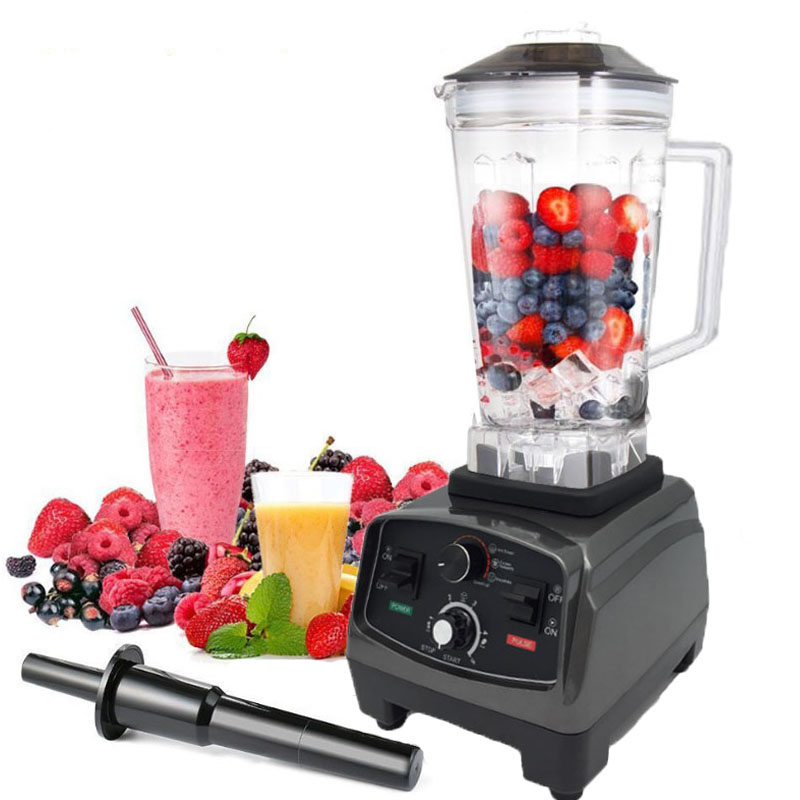 BPA Free Commercial Grade Timer Blender Mixer Heavy Duty Automatic Fruit Juicer Food Processor Ice Crusher