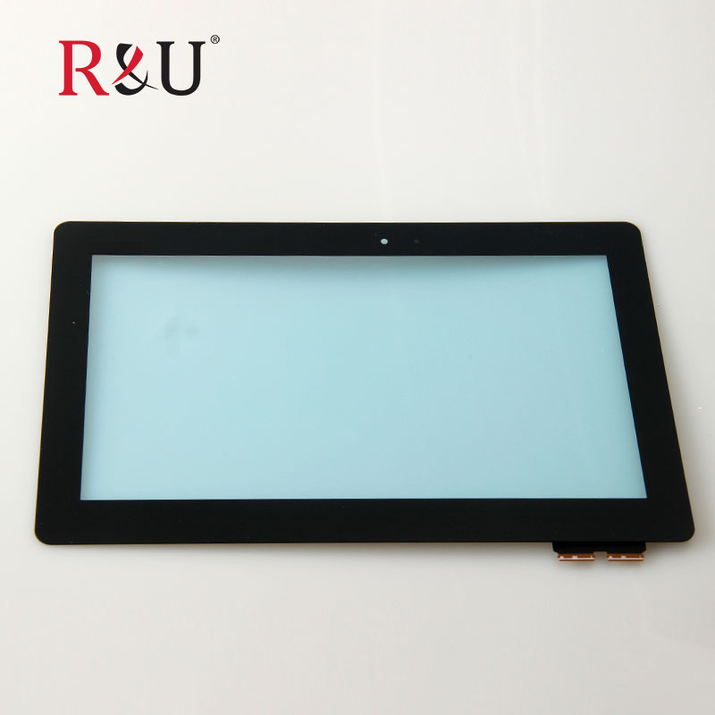 R&U used parts touch screen with frame 10.1for ASUS Transformer Book T100 T100TA-C1-GR black cable version FP-TPAY10104A-02X-H