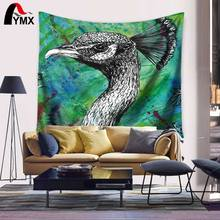 Wholesale Tapestry 150X130/200CM Peacock Pictures Digital Printing Home Decoration Mandala Wall Hanging Textile