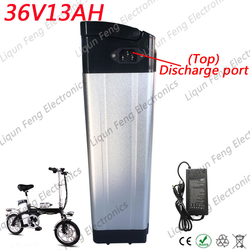 electric bike battery 48V 13AH Power-out from Top