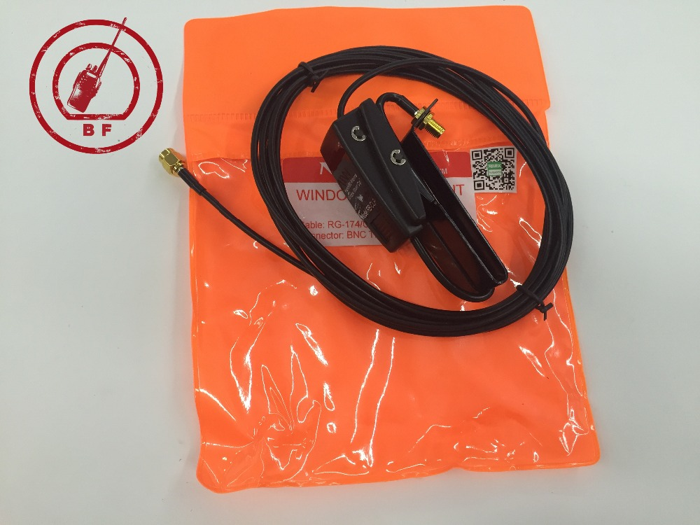 bilder für Für Nagoya Auto Fenster Clip montieren RB-CLP SMA-Stecker für Yaesu VX-3R VX-7R UV-3R PX-2R UV-985 ZT-2R KG-UV6D Walkie Talkie Großhandel