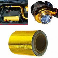 Выхлопная труба из алюминиевой фольги, высокотемпературная оберточная лента, светоотражающая теплозащитная пленка
