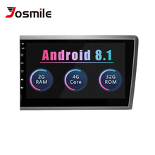 Josmile 2 din Android 8.1 Car Multimedia Player For VOLVO S60 VOLVO V50 V70 XC70 2000 200120022003 2004 Car Radio GPS Navigation цена