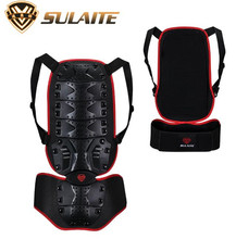 SULAITE Motorcycle Armor Vest Protection Moto Bike Body Backpiece Back Protective Protector Spine