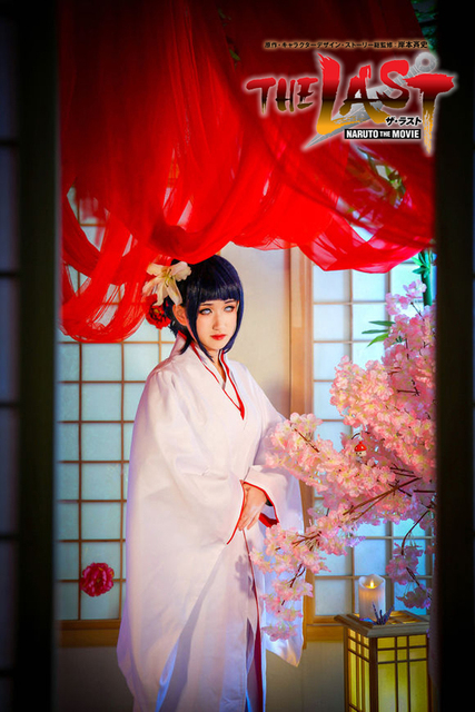 Naruto Hinata Wedding.Us 67 99 Free Shipping Naruto Shippuden Hyuga Hinata Wedding Dress Kimono Anime Cosplay Costume On Aliexpress Com Alibaba Group