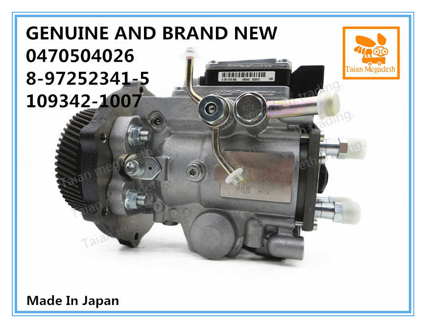 GENUINE AND BRAND NEW VP44 FUEL PUMP 0470504026, 8-97252341-0, 8-97252341-1, 8-97252341-2, 8-97252341-5, 109342-1007