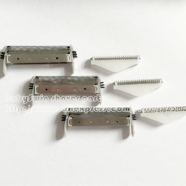Nauja 3x keičiamoji skustuvo folija ir peiliukas, skirti SP-93 MS3-1000 MS3-2000 MS3-3000 MS3-4000 RS8503 RS8986Nemokamas pristatymas