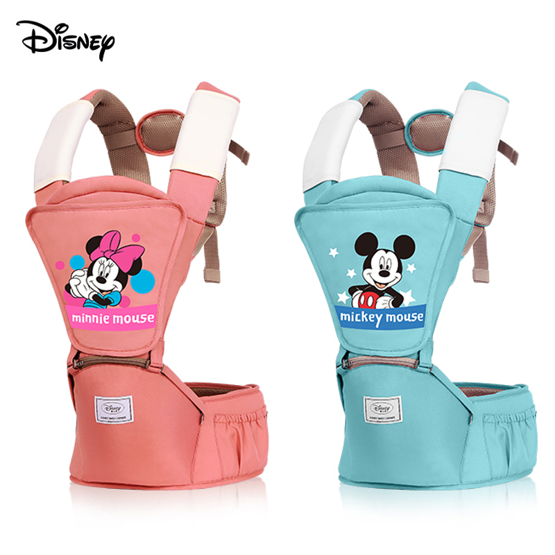 Disney Baby Carriers With Waist Stool Carrier Four Season Universal Multifunctional Single Light Front Seat Belt