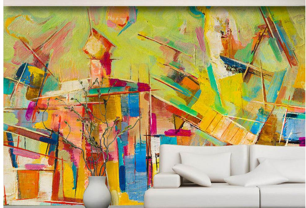 Exelent Colorful Wall Murals Picture Collection - Wall Art ...