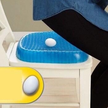 Hemorrhoid Cushion Pillow Gel Seat Egg Donut Treatment Wheelchair Seat Cushion