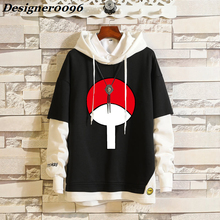 Anime cosplay NARUTO Uchiha Sasuke costume Hatake Kakashi fashion hooded sweater Akatsuki anime around adult clothes