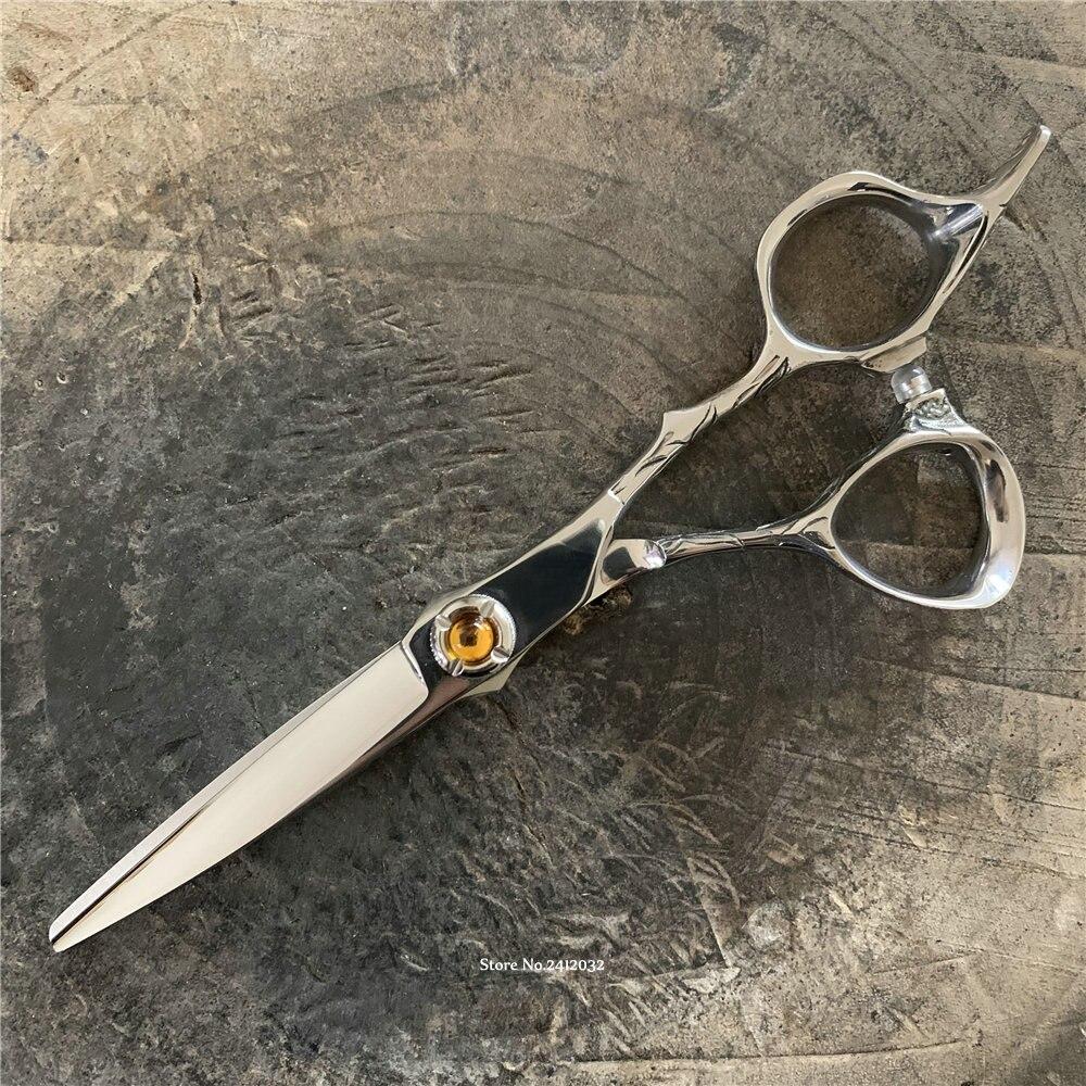 Japan Hot H S Professional Hair Cutting Scissors 5 8 Cobalt High Quality Barber Shop Hairdressing