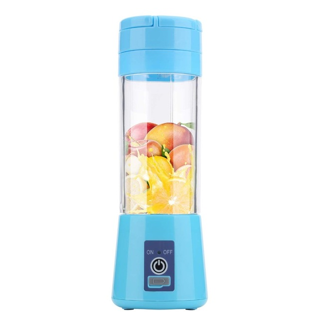 380ml Portable Juicer Electric USB Rechargeable Smoothie Blender Machine Mixer Mini Juice Cup Maker fast Blenders food processor 5