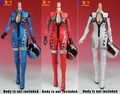 """1/6 scale figure doll clothes female Motorcycle clothing for 12"""" Action figure doll accessories.not include doll and other 1573"""