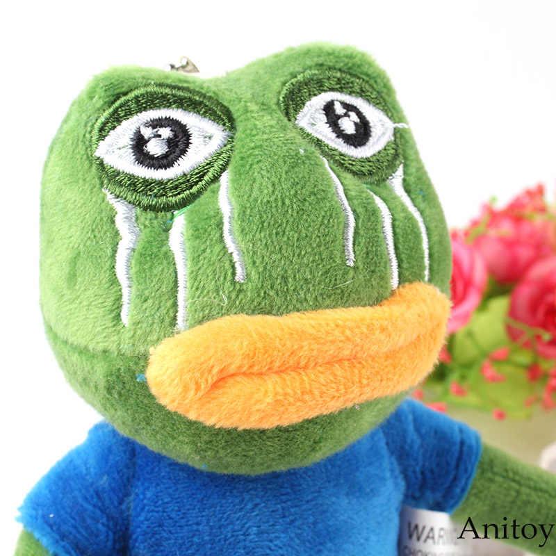 18 センチステッカー悲しいカエルペペ感じ悪いぬいぐるみ動物ぬいぐるみぬいぐるみソフトおもちゃクリスマス誕生日プレゼント 10 ピース/ロット