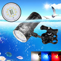 Diver Tactical 12000LM 10 x CREE XM-L L2+4 x Red XP-E R5 + 4 x BLUE LED Scuba Diving Photography Waterproof Flashlight Torch