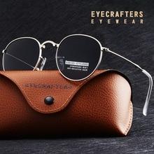 Foldable Folding Sunglasses HD Polarized Mens Womens Fashion Retro Vintage Small