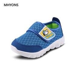 MHYONS/Весенняя детская обувь для мальчиков и девочек от 1 до 6 лет; повседневная спортивная обувь; модные детские кроссовки; Брендовая обувь дл...