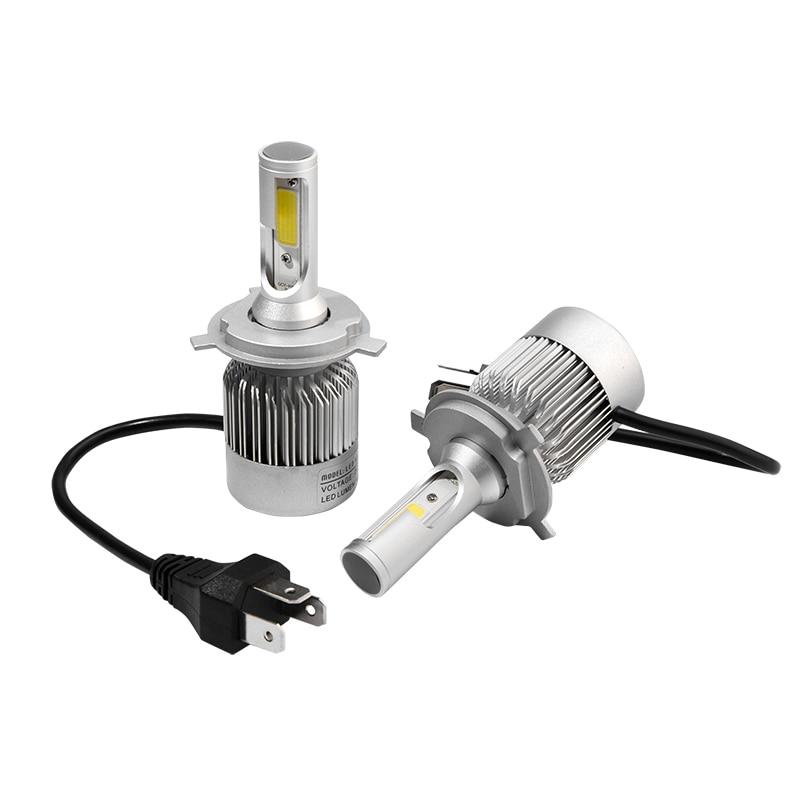 Q2 car headlight  H7 LED H4 H8/H9/H11 HB3/9005 HB4/9006 9007 h3 H1 880 bulb auto front fog drl bulb automobile headlamp 2x car led headlight 12v 24v 60w 7200lm 6000k light auto headlamp bulb kit h1 h3 h4 h7 8 9 h11 h13 9004 9005 9006 9007 880 881