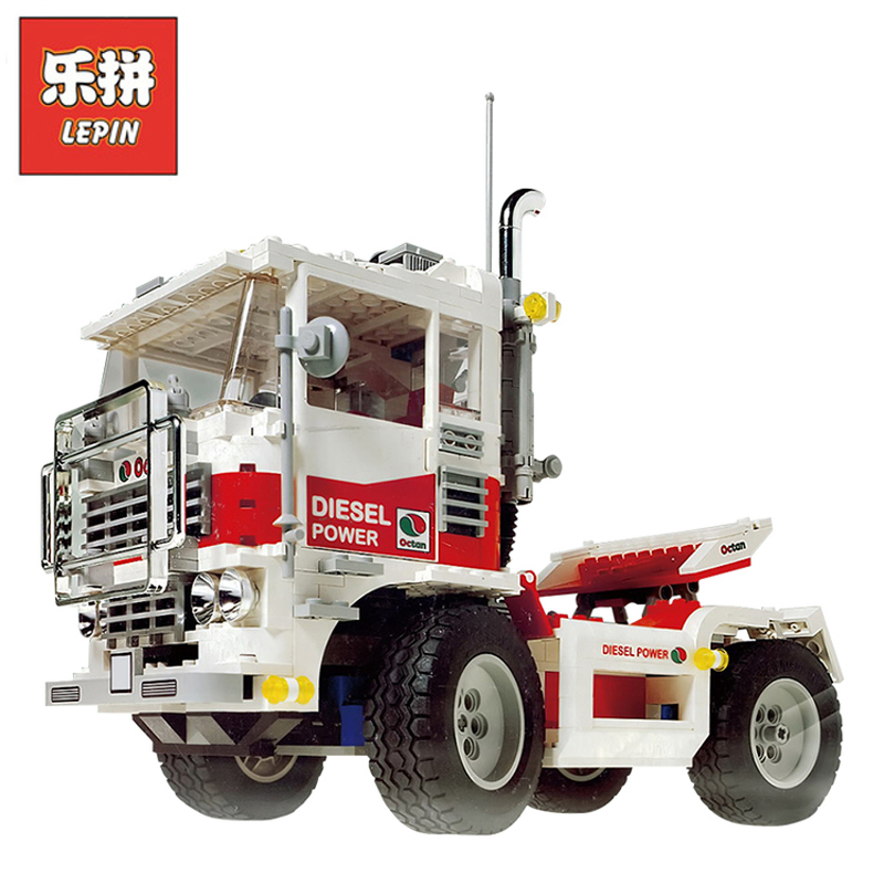 In Stock DHL Lepin 21020 818Pcs Technic Figures Team The Big Foot 4x4 Model Building Kits Blocks Bricks Educational Toy Gift5561 lepin 20076 technic series the mack big