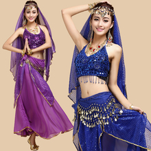 Belly dance set quality practice service indian clothes