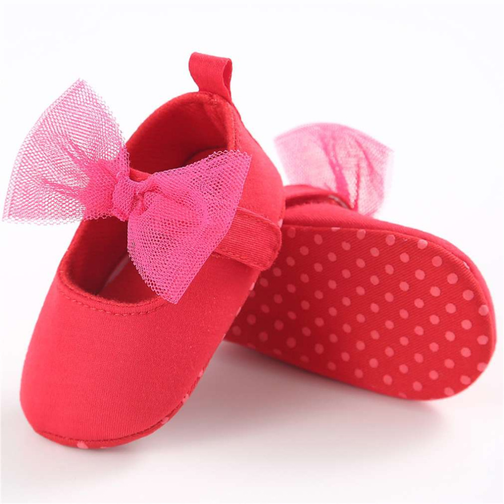 Baby Girl Shoesborn Girl Soft Shoes Bow Fringe Soft Soled Non-slip First Walkers Infant Bowknot Shoes 100% Brand New