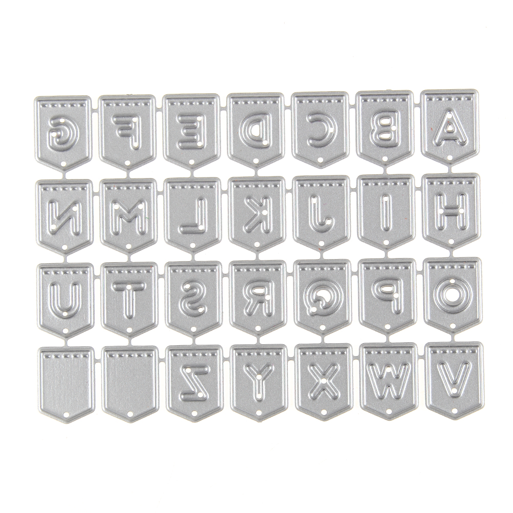 Metal Craft Letters Aliexpress  Buy 96*71Mm Letters Alphabet Metal Cutting Dies