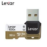 Original Lexar Micro SD Card 32GB 128GB 256GB Memory Card UHS II U3 Max 150MB/s Class10 TF Card For Recording 3D 4K HD Video