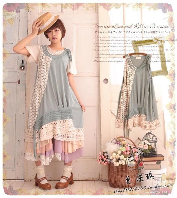 Buy vintage lolita boho lace patchwork crochet tunique femme robe de plage hora - Tunique de plage femme ...