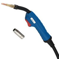 MIG Torch 15AK 180A MIG MAG Welding Gun 3 meters Air cooled Euro Connector for MAG MIG Welding Machine