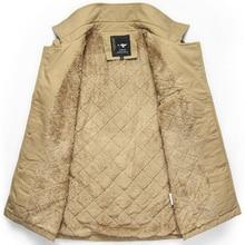 Куртка Мужчины 2016 Новый 6XL Плюс Размер Мужские Утолщенной Зимняя Куртка Мужчины Долго Парка Теплая Куртка Мужчины Хлопок Бесплатная Доставка