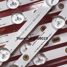 """Lote de 12 unidades para So ny, 75 """", KDL 75W850C, tira de LED para iluminación trasera, 750TV07, V1, CX 75S01E02 2B753 0 E 59K 4638 T, 5 + 8LED"""