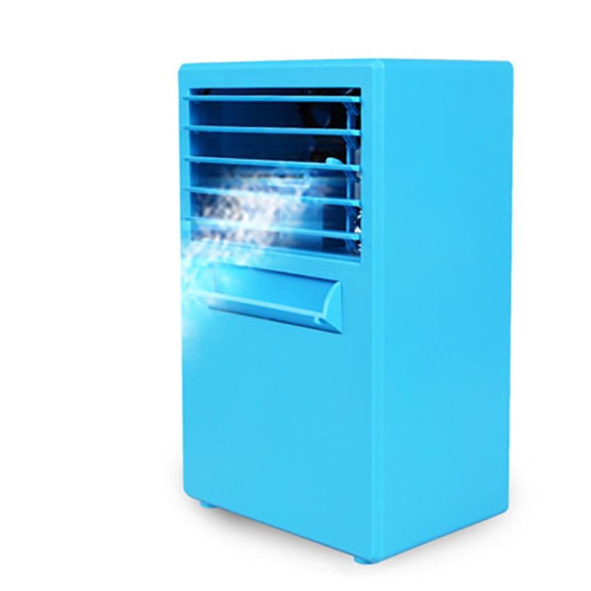 Bureau Mini climatiseur personnel Portable refroidisseur d'air Portable Portable bureau à domicile bureau Humidification ventilateurs de refroidissement