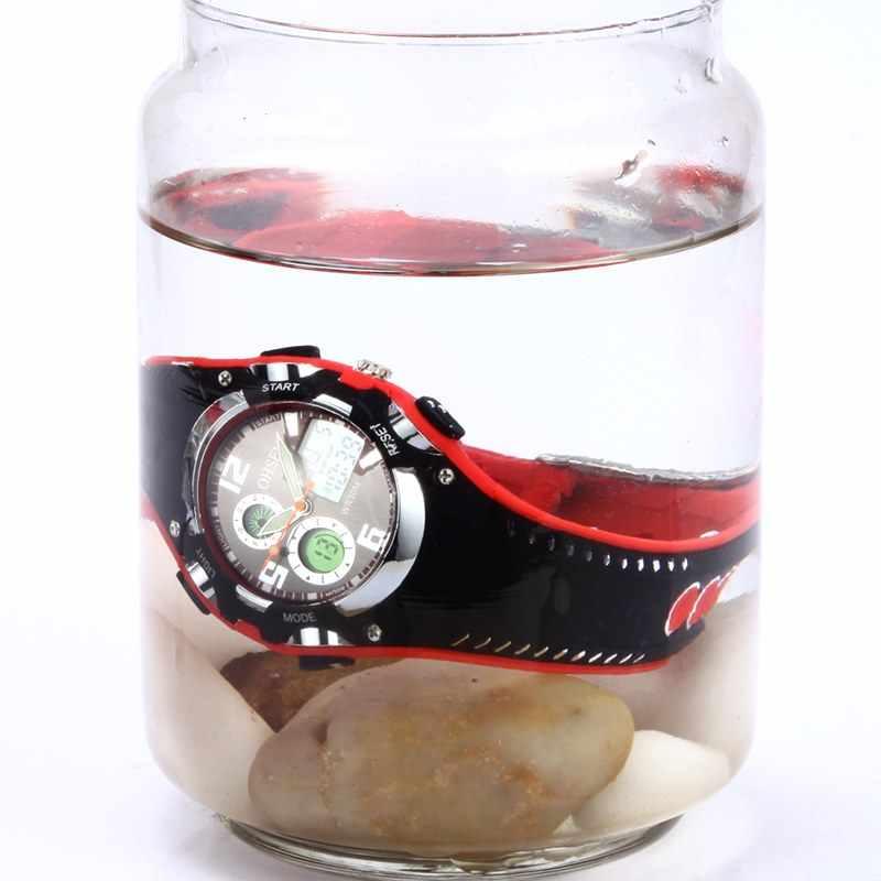 New OHSEN Relogios Masculinos Luxury Brand Backlight Digital Display Date Alarm Stopwatch 30M Waterproof Sports Watches Women