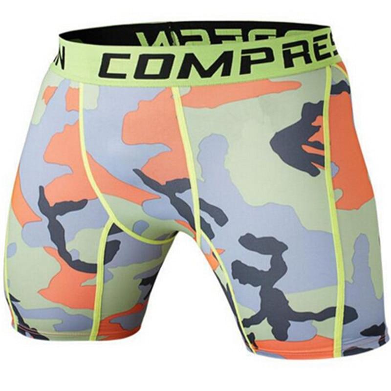 Sommer Camouflag Kompressionsstrumpfhose Shorts Fitness Herren - Herrenbekleidung - Foto 4