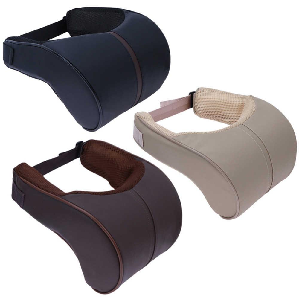 VODOOL bellek pamuk araba oto kafalık boyun yastığı emniyet desteği araba kafa boyun istirahat yastığı yastık araba şekillendirici aksesuarları