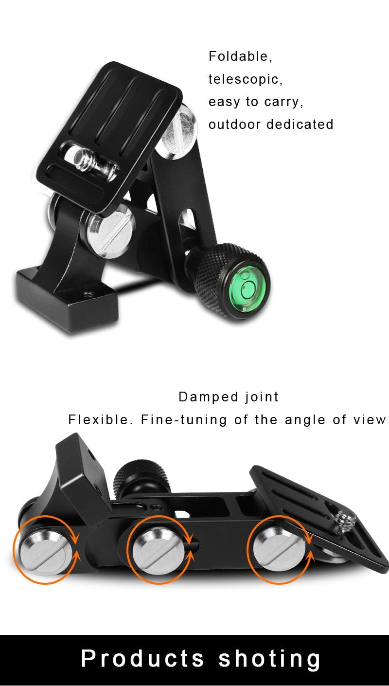 BEXIN длинный телефото зум-объектив держатель камеры длинный Фокус объектив камера Поддержка быстросъемный кронштейн